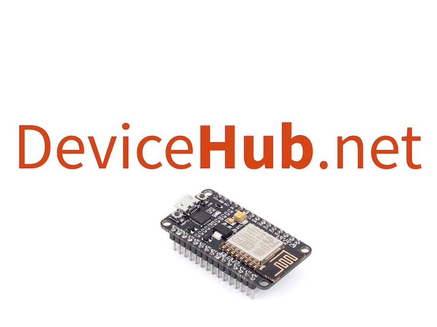 Using NodeMCU Board to Send Data to DeviceHub IoT Platform