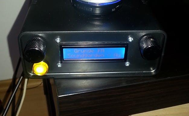 Internet Radio / DLNA Audio Renderer