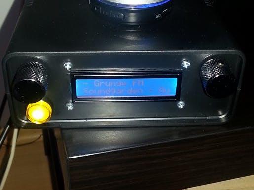 Internet Radio / DLNA Audio Renderer - Arduino Project Hub