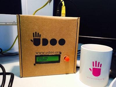 UDOO NEO Kickstarter Tracker
