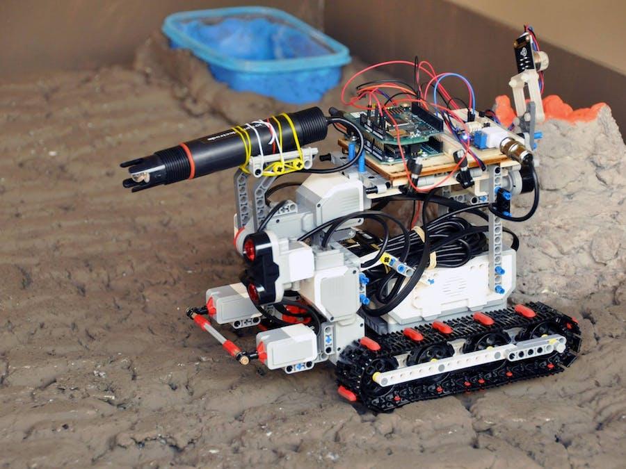 Wa.Te.X. the Robot Explorer