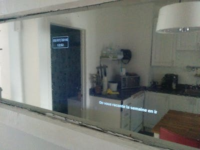"Morgan: A Home Made ""Magic Mirror"""