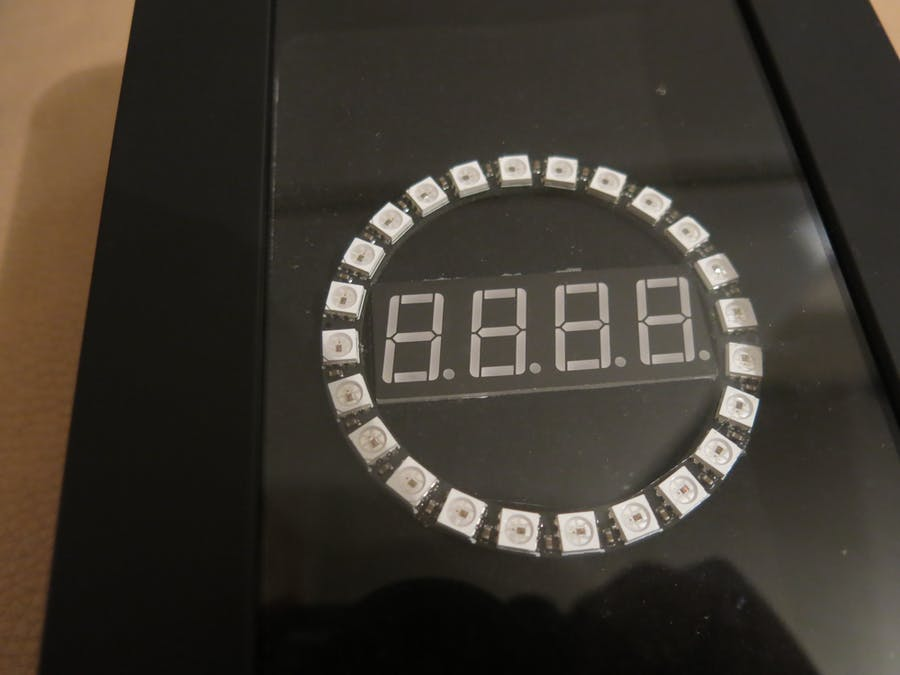 Arduino Clock with Neopixel Ring Animation
