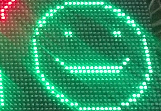 32x32 Chained LED Matrices with Win IOT Core on RPi3