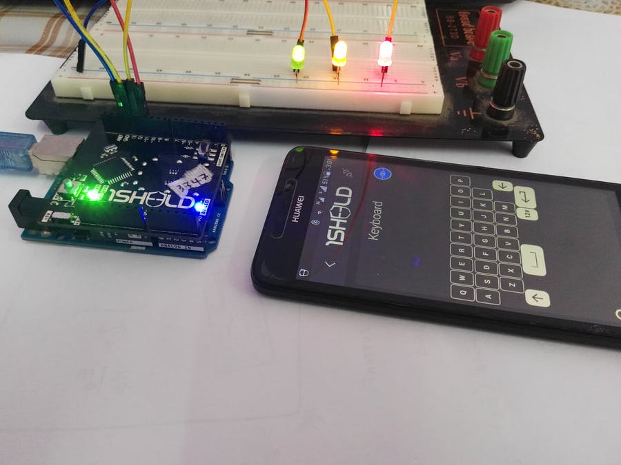 Control your Light System Using Smart Phone