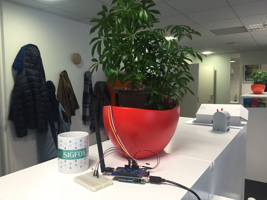 Sigfox Talking Plant