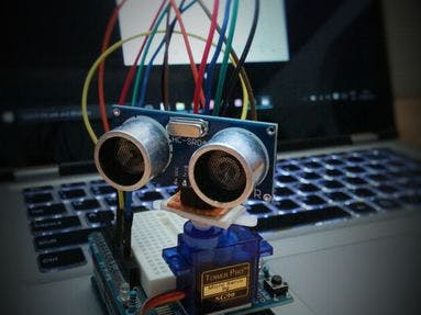 Ultrasonic Map-Maker using an Arduino Yun
