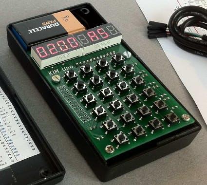 KIM Uno - a 6502 KIM-1 Computer on Arduino