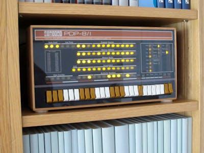 PiDP-8: A PDP-8 Minicomputer on Raspberry Pi