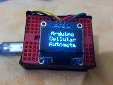 Arduino and OLED based Cellular Automata