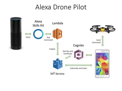 Alexa Drone Pilot