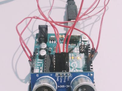 Ultrasonic Range Detector With Arduino