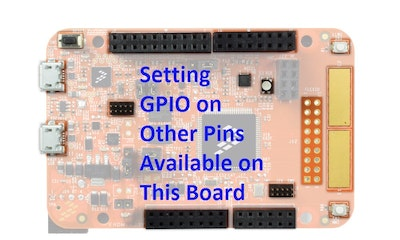 Setting Up GPIO for K82 Freedom Board in KDS