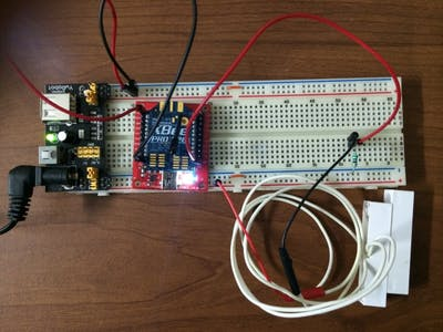 Spark Code and XBee Remote Door Monitor