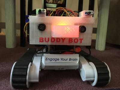 BuddyBot the First Robot Programmed with Swift