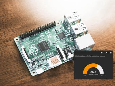 A Raspberry Pi Thermometer you can Access Anywhere