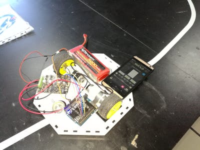 Line Follower Robot Using Arduino & 1Sheeld