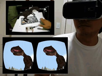 Augmented Reality / Virtual Reality Dinosaur Experience