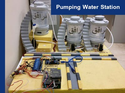 SCADA Control of a Water Pumping Station