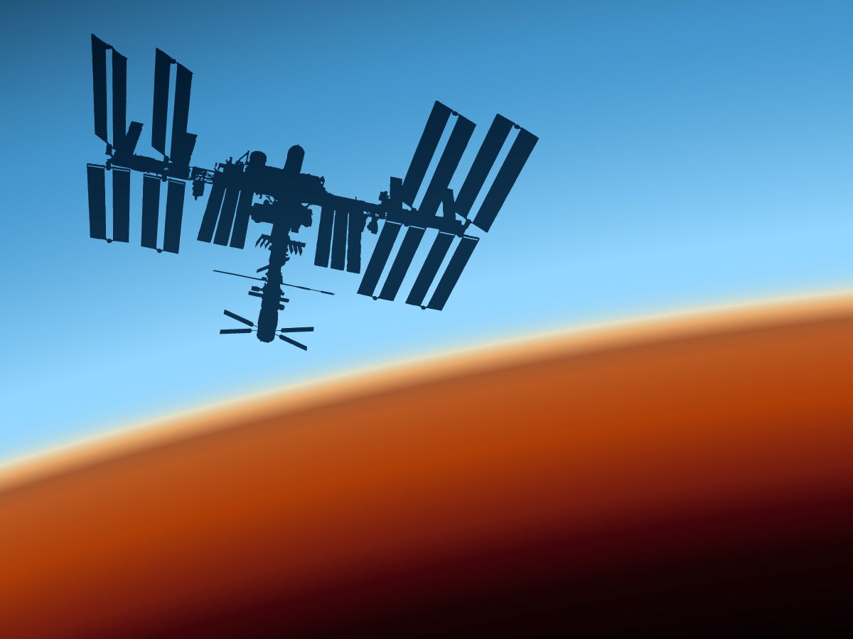 Track a Space Station by Voice Command