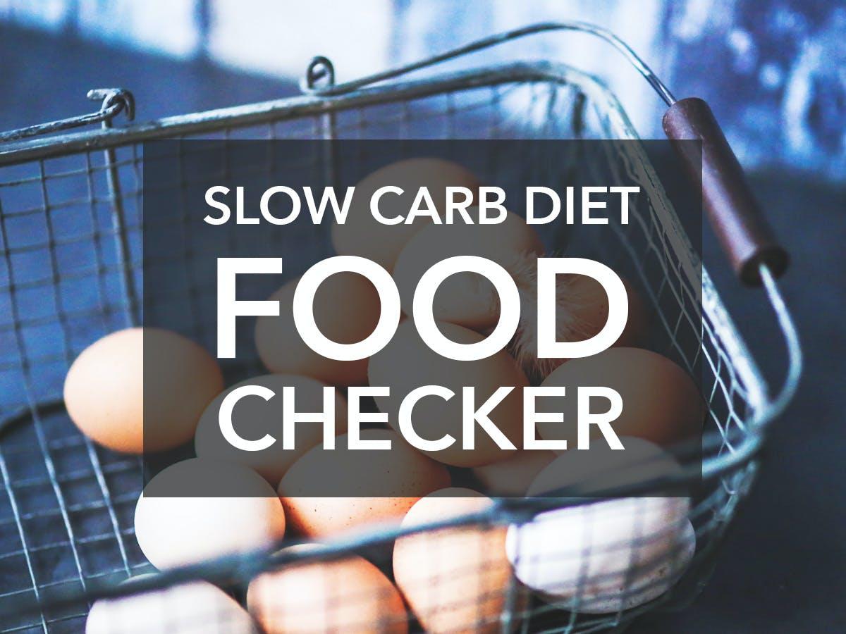 Slow Carb Checker