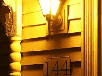 Flashing Emergency  Porch Light