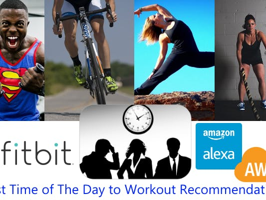 Amazon Machine Learning to Recommend Best Workout Time