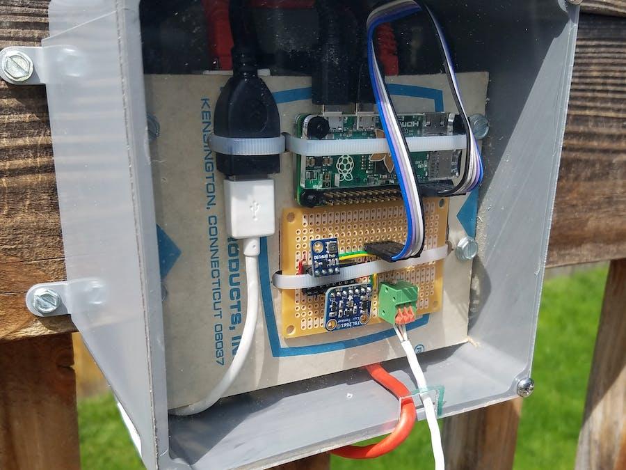 Pi Zero and Sensors Outside via PoE & Cayenne