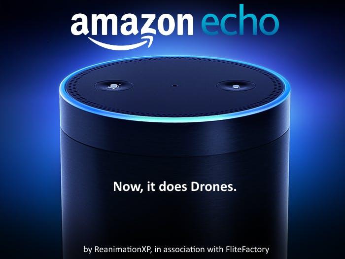 Alexa, Start DroneHelper!