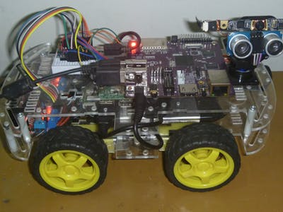 Smart Face Tracking Robot Car