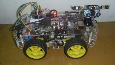 Smart Face Tracking Robot Car