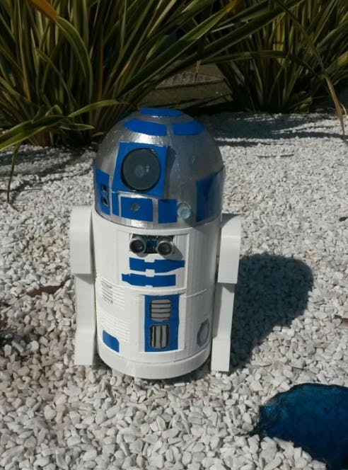 3D Printed R2-D2 with an Arduino Core