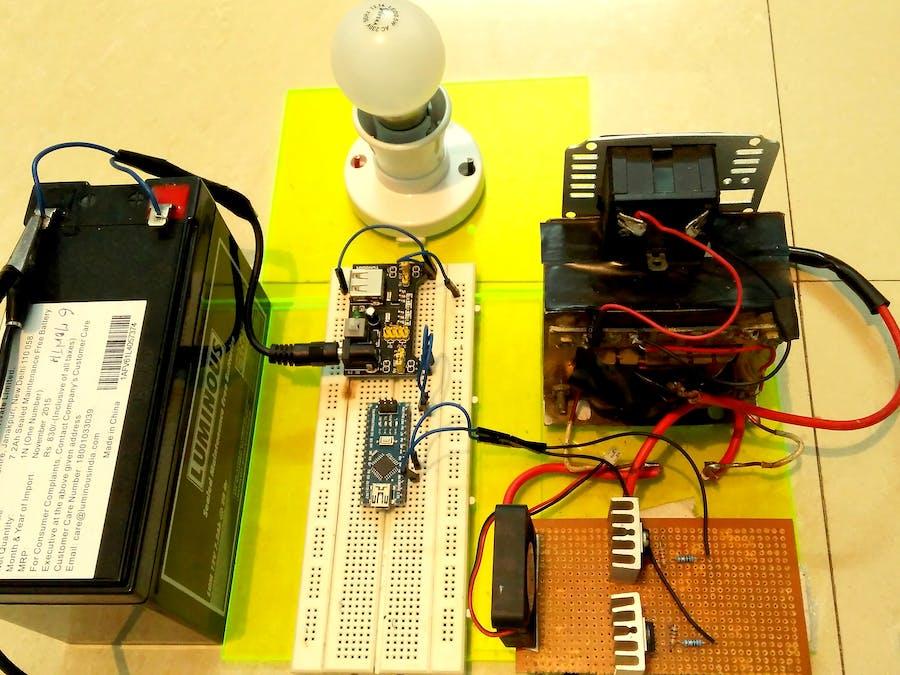 Make an Inverter at Home Using Arduino