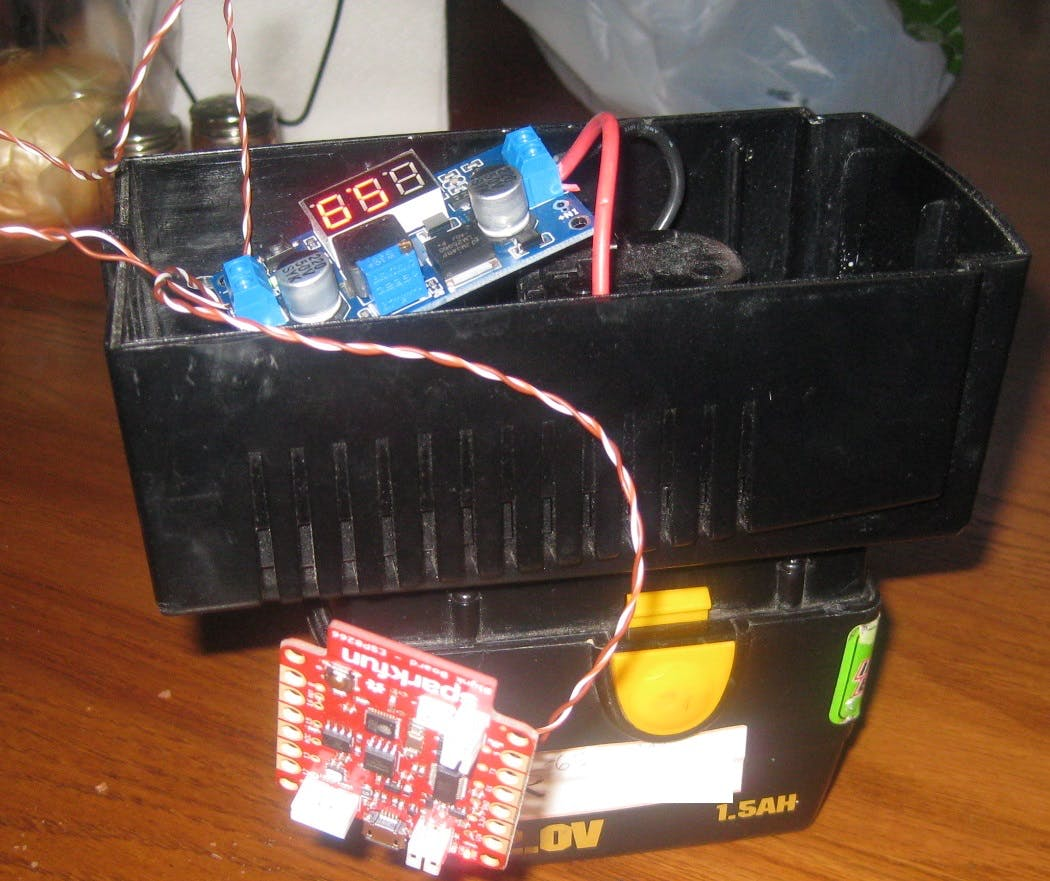 Cigar Humidor Humidity Control using Blynk and Sparkfun