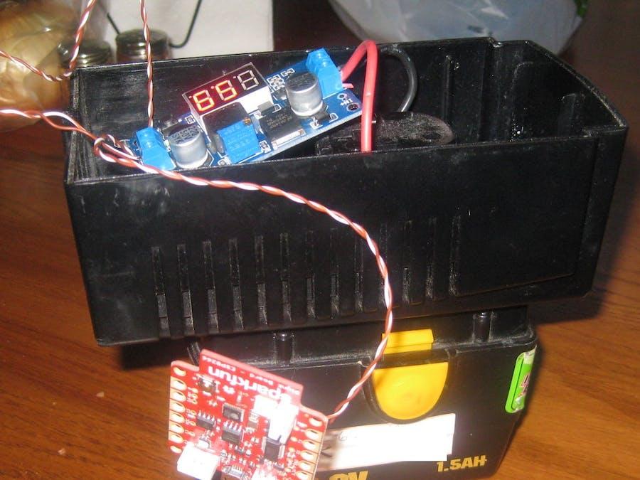 Cigar Humidor Humidity Control using Blynk and Sparkfun