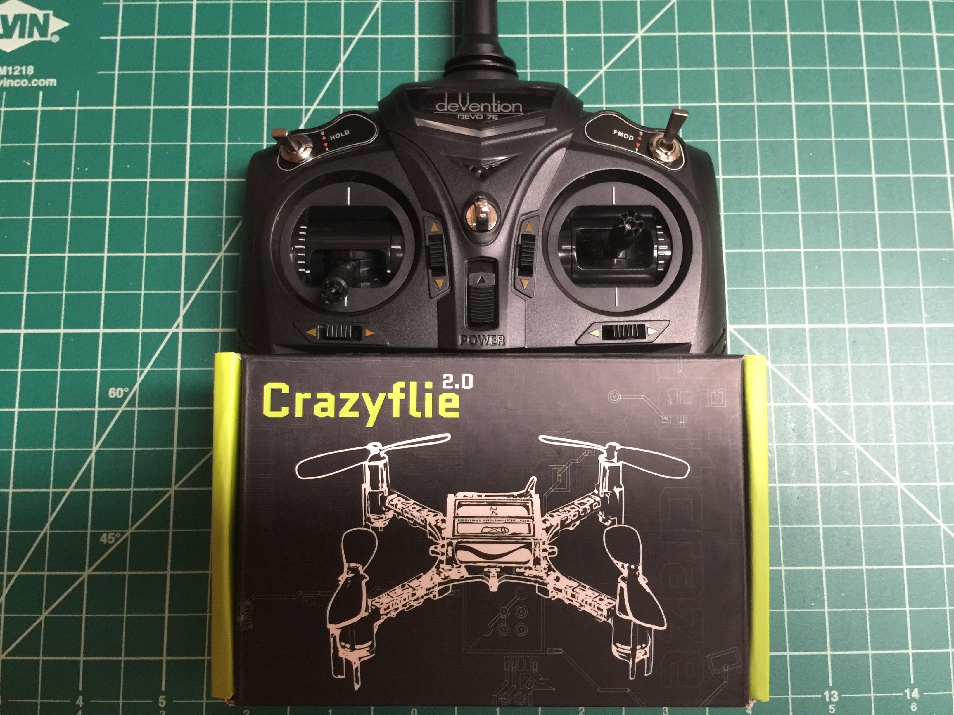 Walkera Devo 7e Transmitter Crazyflie 2 Mod