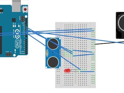 Proximity Detector Alarm