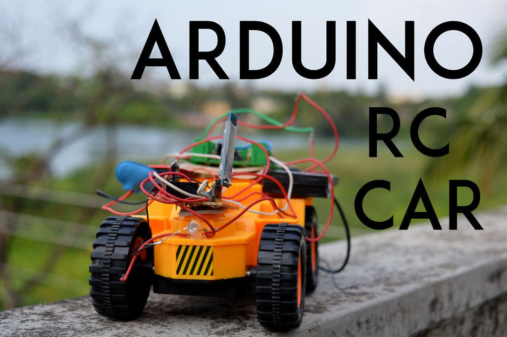 Turn your RC Car to Bluetooth RC car