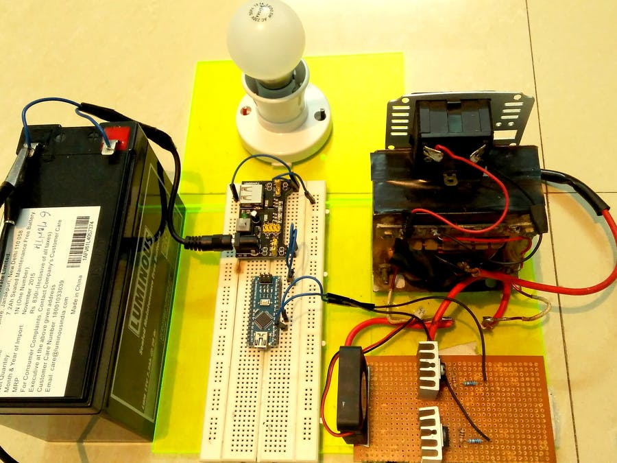 Make your own Power Inverter using Arduino