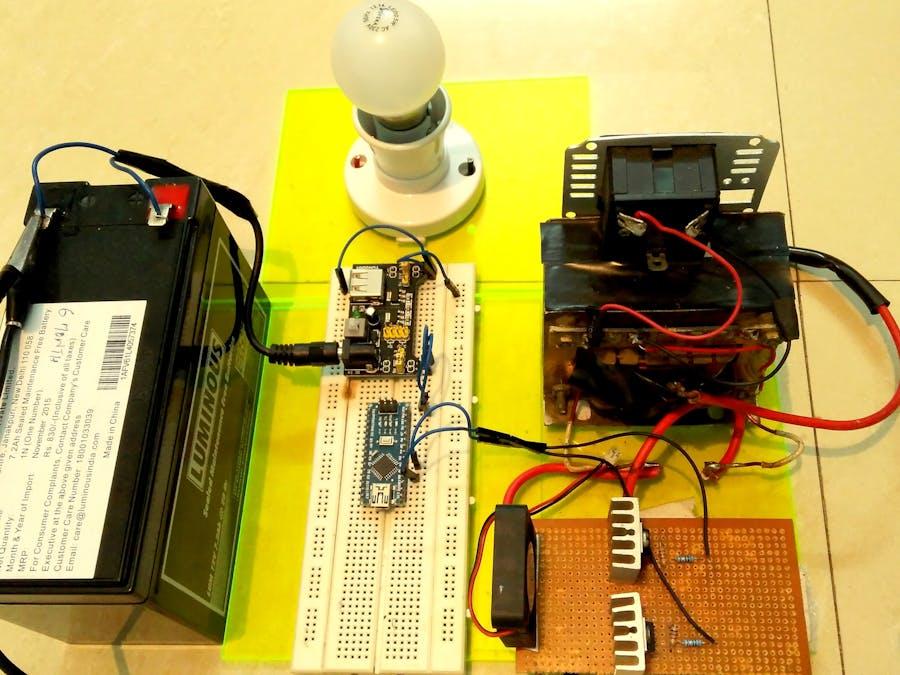 Make your own Power Inverter using Arduino - Hackster io