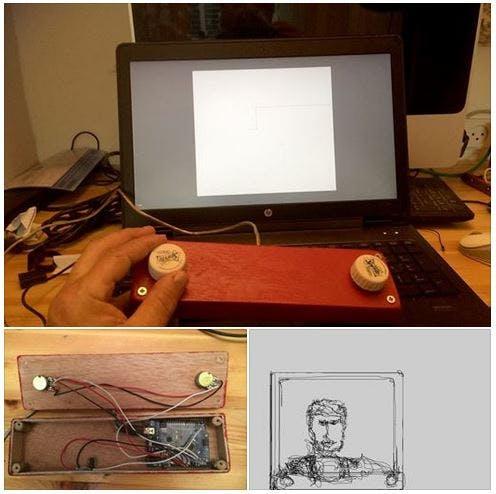 Paddle A Sketch (Tm)