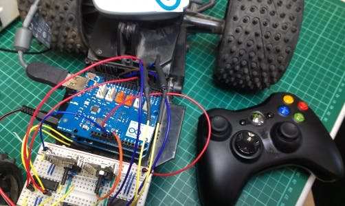 Joystick Controlled RC Car