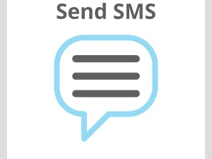 Send an SMS using Twilio with Temboo