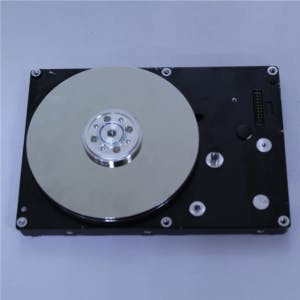 Use a hard disk like a rotational input device