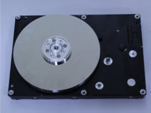 Use a hard disk like a rotational input device