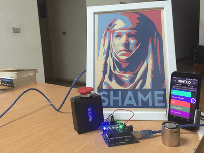 Game of Thrones Shame Button with Arduino and 1Sheeld