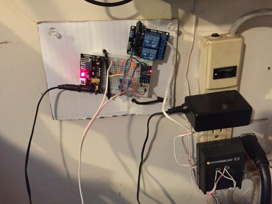 ESP8266 Wifi Smart Garage Door
