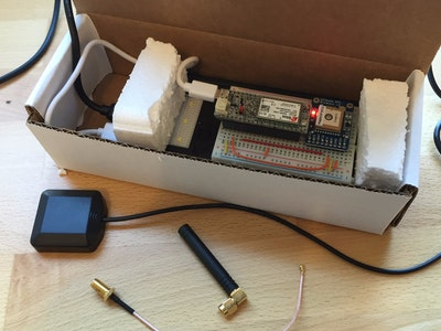 Simple Cellular GPS Asset Tracker w/real-time web app