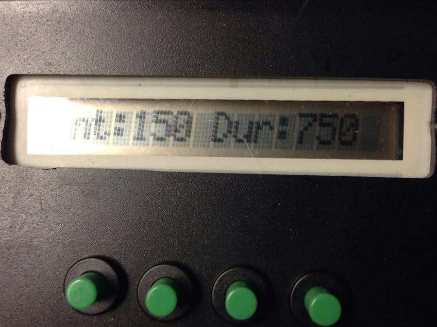 Intervalometer AKA Automated Fog Machine