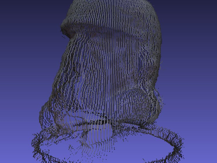 3D Scanning with Raspberry Pi and MATLAB